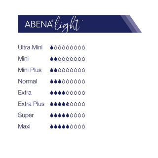 Abena Light Lady Extra Plus 3A