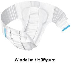 Windel mit Hüftband